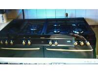 Range cooker and extractor hood