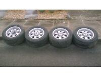 MAK alloy wheels