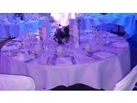 Wedding venue decoration, Chair cover hire from £0.60p, Backdrop hire from £60 only
