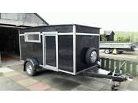 Festival camper trailer