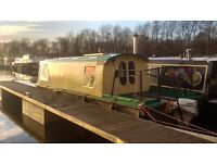 Water Dragon - unique live aboard narrowboat, cruiser, wilderness beaver