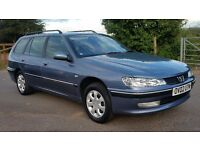 PEUGEOT 406 ESTATE DIESEL 7 SEATER