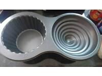 Wilton cupcake baking pan