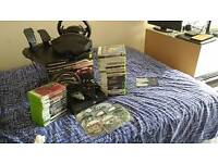 Xbox 360 game and accessories bundle