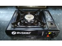 Outwell gas cooker in case very good condition! Can deliver or post!