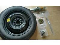 Nissan juke space saver wheel