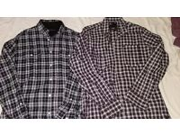 G-STAR French Connection MENS checked shirts