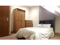 Brand new decorated attic room, bill all inclued