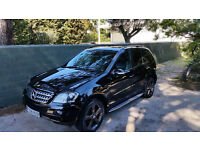 Mercedes ML320 CDI Edition 10 2008 FSH, 12 months MOT, lots of extras, remapped 261BHP