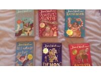 Davis Walliams Books X 6