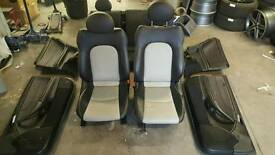 Mercedes Coupe CL203 Kompressor Leather Interior Seats