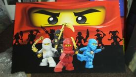 Canvas wall art 20x30 inch marvel lego men