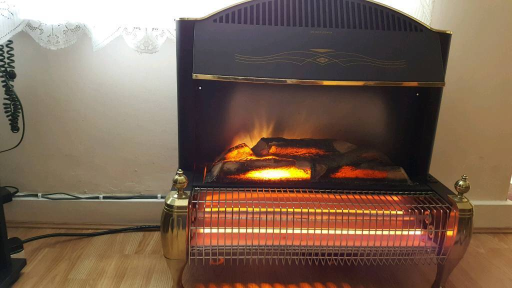 Electric fireplace freestanding