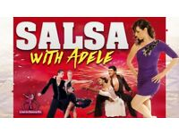 Intermediate Salsa & Bachata Classes from Mon 21st May 2018
