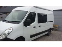 Campervan - 2014 Renault Master - brand new conversion