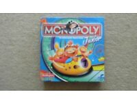 JUNIOR MONOPOLY - USED BUT IN AS NEW CONDITION