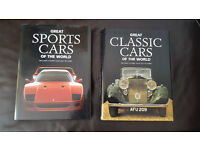First Edition Books – Great Classic Cars & Sports Cars of the world – Hardback – Excellent Condition