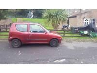 Fiat Seicento SX 10 Months MOT X Reg