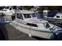 Hardy Seawings 194 two berth cabin cruiser with 9.9hp Suzuki outboard, recently serviced
