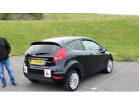 FORD FIESTA 1.4 (DIESEL) BLACK (2009) VERY CHEAP TO RUN CAR!