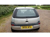 Econmical small car low tax Vauxhall Corsa 1.0
