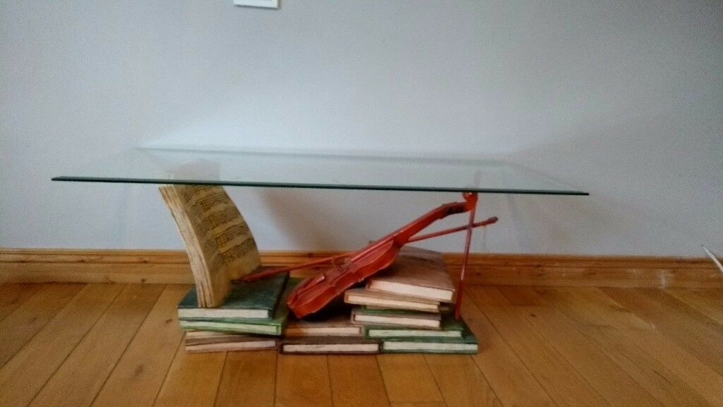 Musician themed coffee table