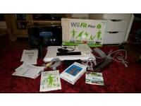Wii Fit Console, Wii Fit Plus, Wii Fit Balance Board, Wii Sports Resort, Wii Network Card (new)