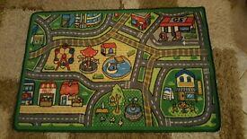 City play mat rug