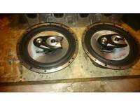 In phase car speakers with boss amp