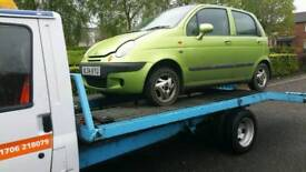 Wanted all scrap cars same day collection and good prices paid