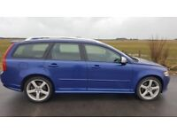 2010 Volvo V50 R Design D5 State FSH HPI CLEAR very good condition.