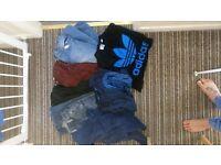 Bundle of boys cloths