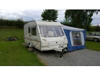 Abbey County Dorset Caravan + Full awning