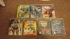 7 x Playstation 3 games. £5 each or £25 for the lot
