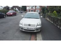 2004 Toyota Avensis 2.0 VVT-i T3-X 5dr low mileage + good condition in and out