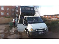 ford transit tipper 54 plate mot'd 12 month cheap van