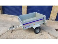 Franc tipper trailer with cover