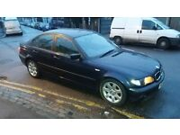 318 bmw 2002 year 82000 miles history 3 owners no mot starts drive spares repairs new battery