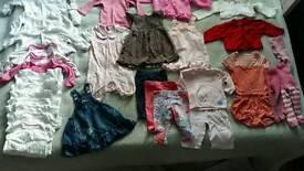 3-6 month girls bundle spring/ summer