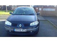 Black Renault Megane for sale 2005 £550 ONO
