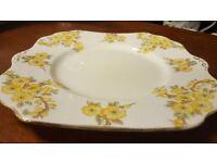 All Vintage / Antique Plates £1 Each Garden Party / Coffee Shop / Wedding / Tea & Cakes