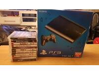 Boxed ps3 with games.