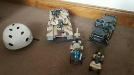 Kids toy bundle (army)