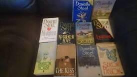 10 Danielle steel paperbacks