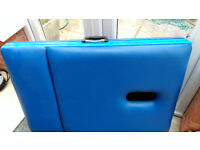Blue Portable Therapy Couch