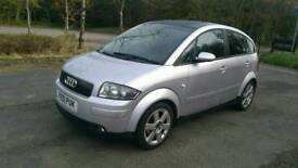 2001 Audi A2 1.4 diesel 30/year road tax full mot spotless condition