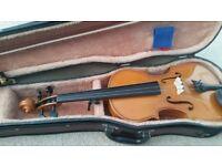 Violin with case - vgc