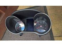 mercedes benz c class w205 instrument cluster speedometer tacho mph a205 9000 416