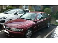 Vauxhall Vectra 2.2 SRI 150 2001*1 year MOT*