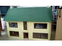 Large hand crafted doll house